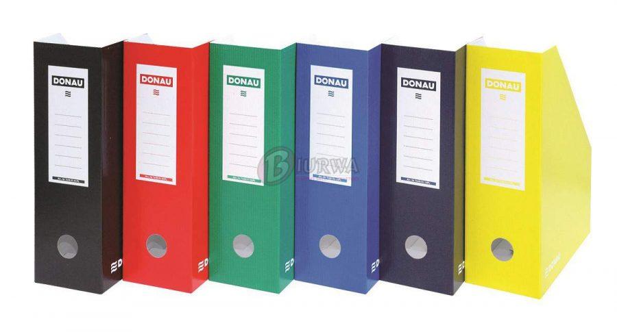 kolorowe pojemniki na dokumenty